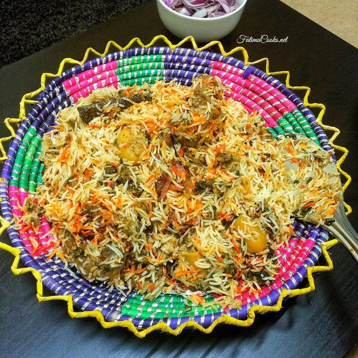 How To Make Sindhi Lamb Biryani - A Traditional Pakistani Favourite! - Fatima Cooks