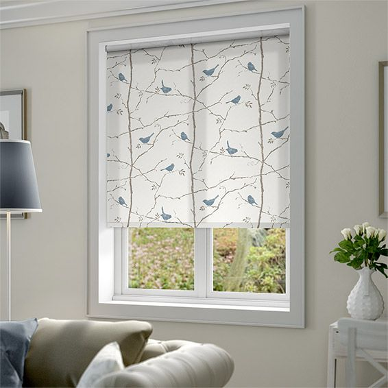 Dawn Chorus Mineral Blue Roller Blind. Best 25  Neutral roller blinds ideas on Pinterest   Country roller