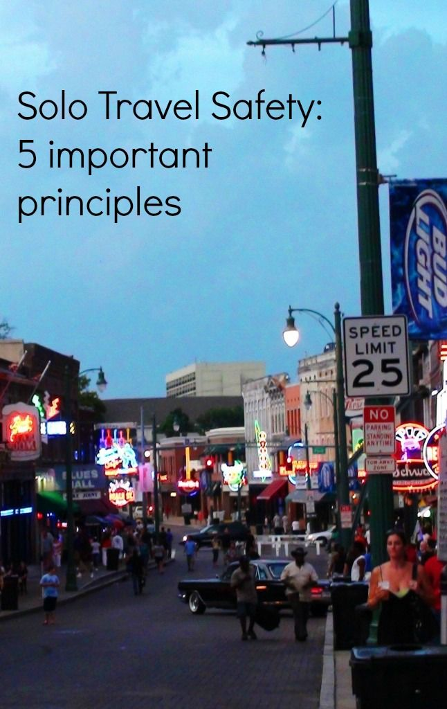 Solo Travel Safety: 5 important principles