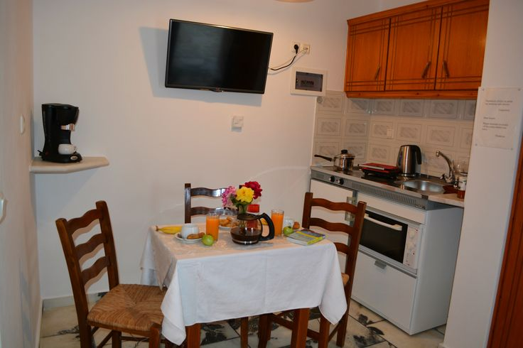 Dimitra Studios Kitchenette in Apartment for 4 Persons and in Apartment for 5 Persons