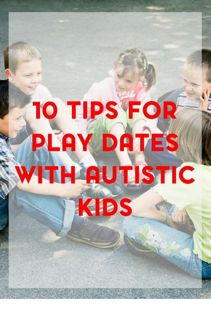 Play dates are so important for helping with social skills. Here are 10 tips for hosting an inclusive play date with an autistic child.