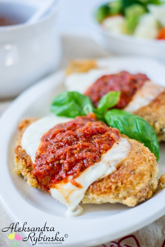 Aleksandra's Recipes: The Best Chicken Parmesan (recipe with step-by-step photos)