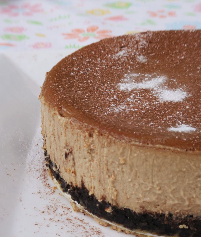 Coffee cheesecake - yes please