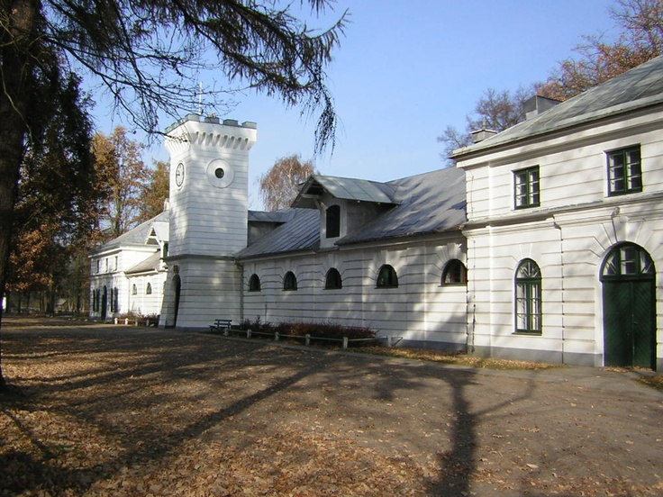 Janow Podlaski State Stud in Poland. Founded in 1817, it was the birthplace of many great horses, including *Witez II and Witraz, the sire of *Bask.