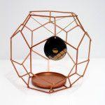 Gouden ketting met ronde hanger - Robert Mazlo www.stylebiss.be