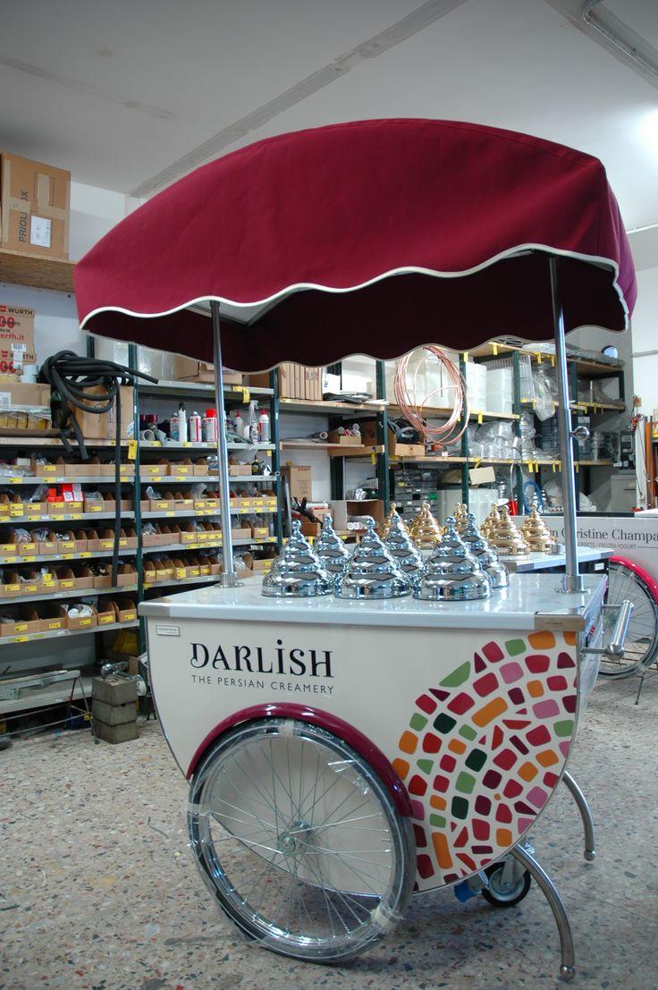 #icecreamcart #gelatocart #artisanalgelato #weddingcart #tekneitalia