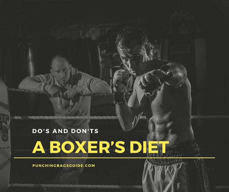 If you want to be in the best fighting shape, you need to know the basic do's and don'ts of a boxer's diet. Here is what you need to know about your nutrition.