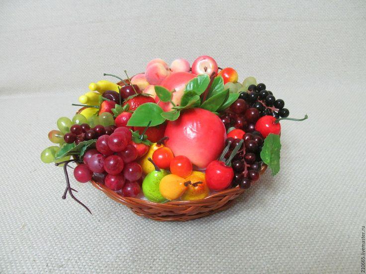 Картинки из искусственных фруктов