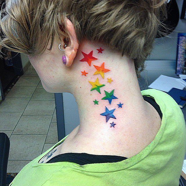 best 25 rainbow tattoos ideas on pinterest gay pride tattoos lgbt tattoos and pride tattoo. Black Bedroom Furniture Sets. Home Design Ideas