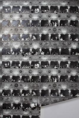 Opera House Wallpaper Anthropologie for the cinema