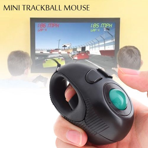 Comfortably browse the website, watch videos, and view documents with smooth and precise control with the Trackball Mouse. The ergonomic design allows you to easily navigate with minimum wrist and hand movement to reduce wrist fatigue. Just roll the ball with your thumb and click.