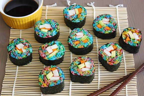 sushi roll recipes - Cerca con Google
