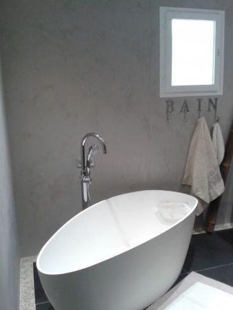 56 best SALLE DE BAINS images on Pinterest Bathroom ideas, Cement - joint noir salle de bain