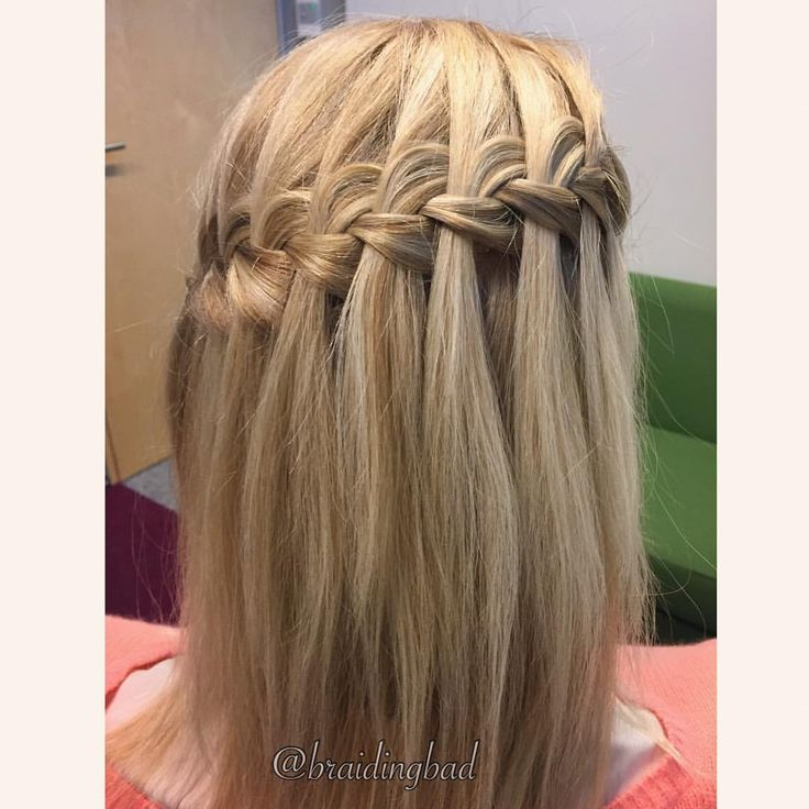 "140 tykkäystä, 7 kommenttia - Heli (@braidingbad) Instagramissa: ""#waterfallbraid may not be the most lasting of braids, but it sure is gorgeous in all it's…"""