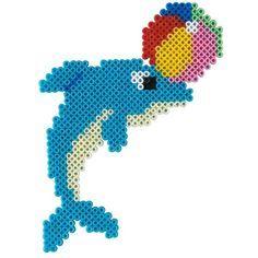 Delphin perler bead pattern