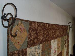 8 best Quilt hangers images on Pinterest   Diamond, Dreams and Homes : ackfeld quilt hangers - Adamdwight.com