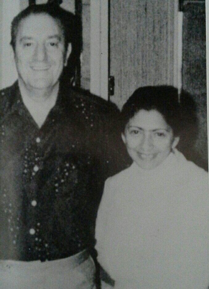 Paul Castellano And Gloria Olarte Mafia Gangster Crime Family Mobster