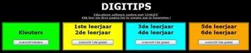 Op deze site vind je heel wat ICT-toepassingen voor in de lagere school.  http://www.digitips.be/digitips/index.html