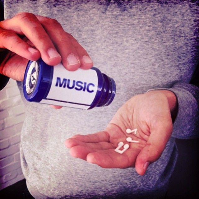 The only extra vitamins I need #musicismydrug