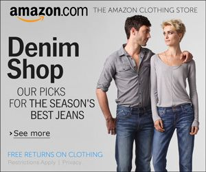 Amazon Denim Shop - 300x250