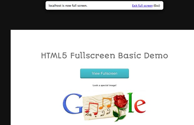 How To Use HTML5 Fullscreen Mode Live Demo – Download Source Code
