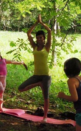 Jessica Locatelli, organizzatrice e ideatrice di HappYoga: corso di yoga per bambini della Valsassina