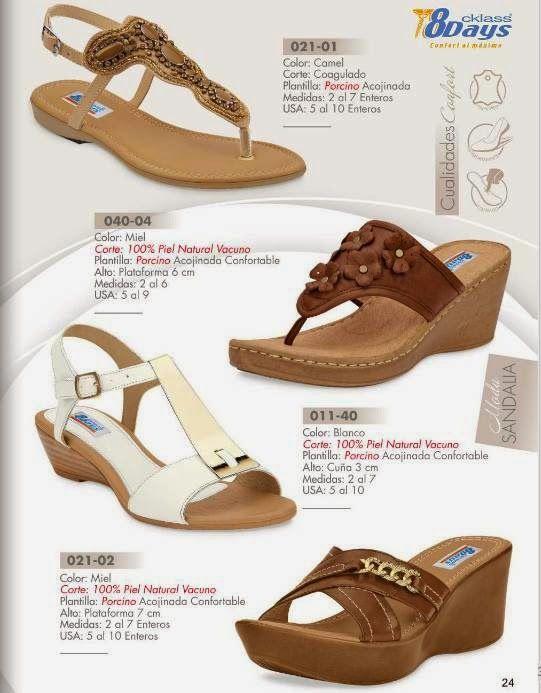 Sandalias de Moda 8Days CKlass PV 2015
