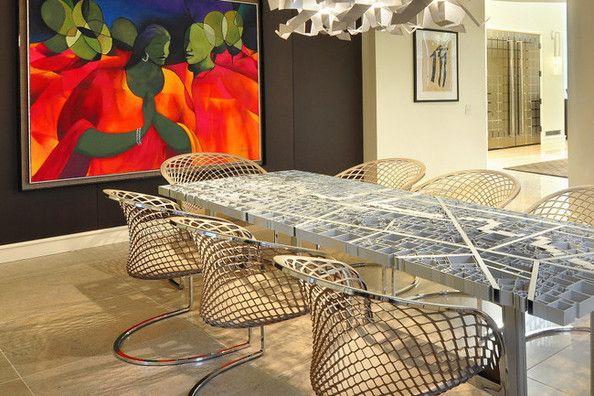 On the table michael jordan jordan 39 s and dining rooms - Michael jordan bedroom decor ...
