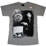 Elvis Presley Badge Narcotics Drug Adult T-Shirt L   Officially Licensed Merchandise, Detailed Graphic Artwork Design Music, Sports & Entertainment Merchandise Quality Products Machine Wash Cold, Tumble Dry Low, No Bleach Great Gift Idea, That Any Fan Will Like.  Elvis Presley Badge...