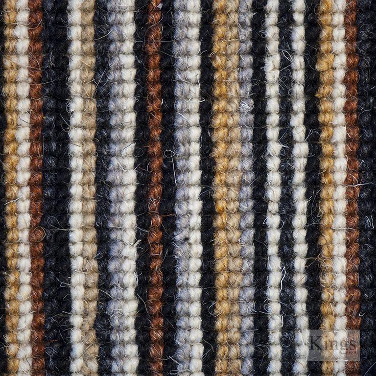 #CrucialTrading Mississippi Stripe #Carpet  www.kingsinteriors.co.uk/flooring/striped-carpet