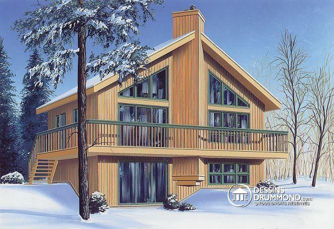 Plan de maison no. W2942 de dessinsdrummond.com