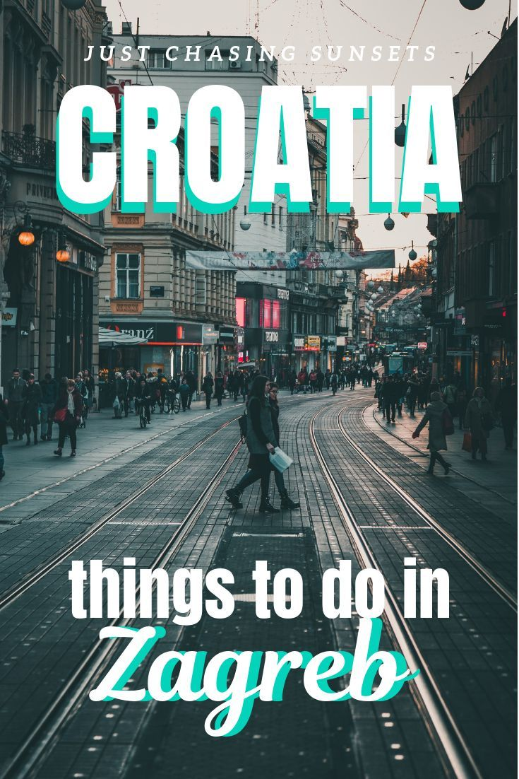 See It All With One Day In Zagreb Croatia Zagreb Croatia Croatia Travel Zagreb