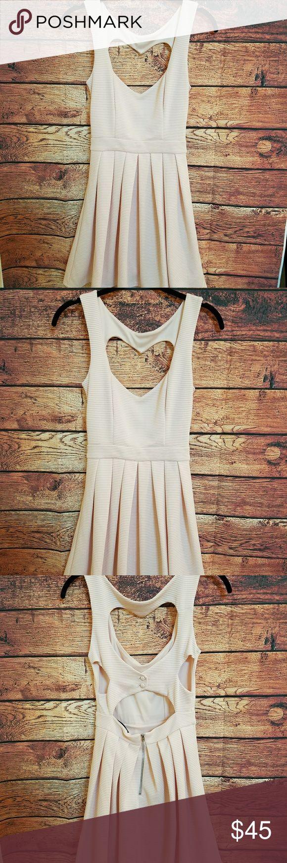 Topshop pink heart back dress size 4 Topshop pink heart back dress size 4 in great condition Topshop Dresses Mini