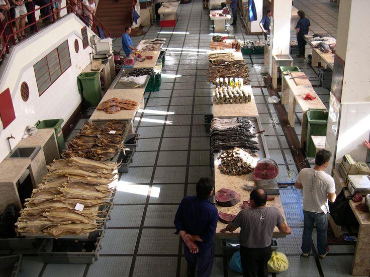 Mercado de pescado. Funchal Madeira
