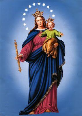 Oh María Auxiliadora Reina y madre celestial Guíame en esta vida Para llegar a la eternidad! Clic en la hermosa imagen!