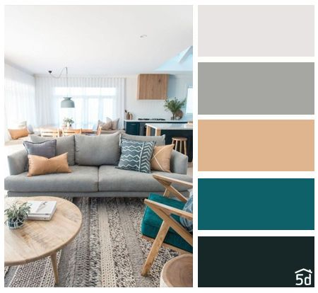 Living room interior, color palette, PLANNER 5D | C o l o r _ B ...