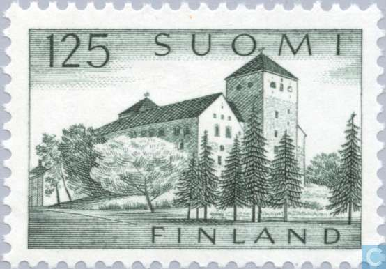 Postage Stamps - Finland - Castle of Turku