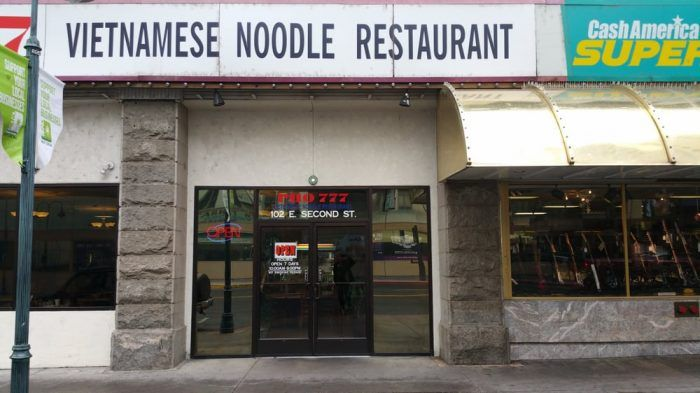 Pho 777 Vietnamese Noodle Restaurant, Reno