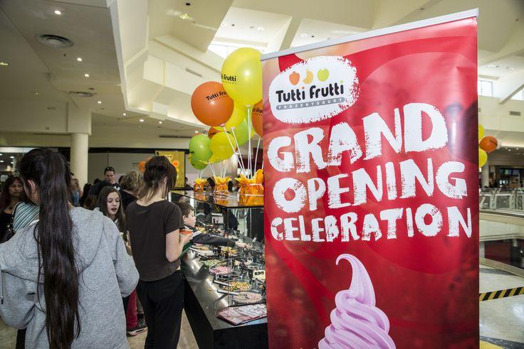 Tutti Frutti Westfield Knox Grand Opening