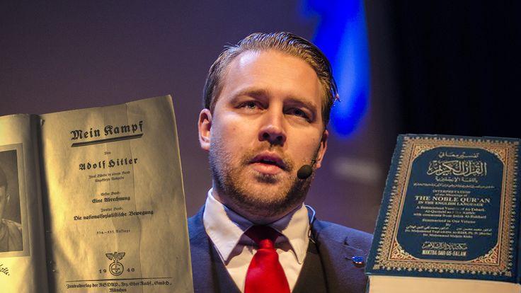 Mattias Karlsson (SD) jämför Koranen med Mein Kampf.