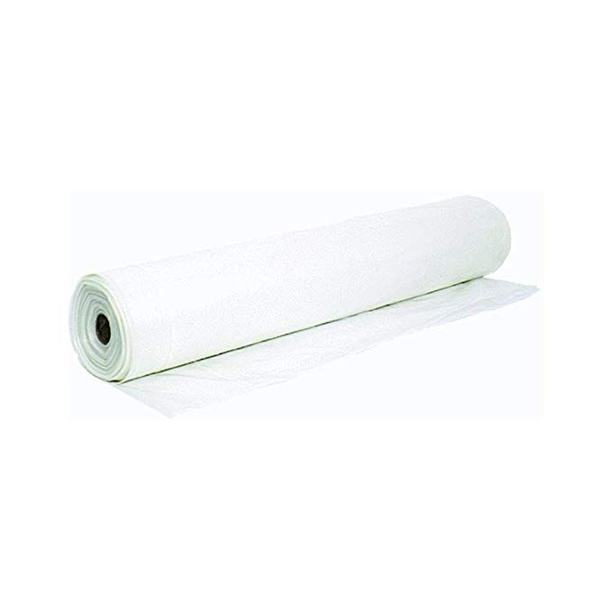Barricade 10 Ft X 100 Ft Clear 6 Mil Plastic Sheeting Lowes Com In 2020 Reflective Insulation Plastic Sheets Radiant Barrier Reflective Insulation