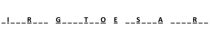 Quiz n.3 - INDOVINA LA FRASE:  Riempi gli spazi vuoti con le lettere mancanti e completa la frase.