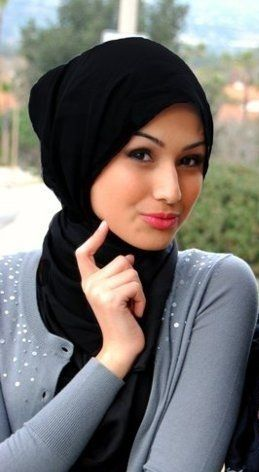 Black Stylish Hijabs