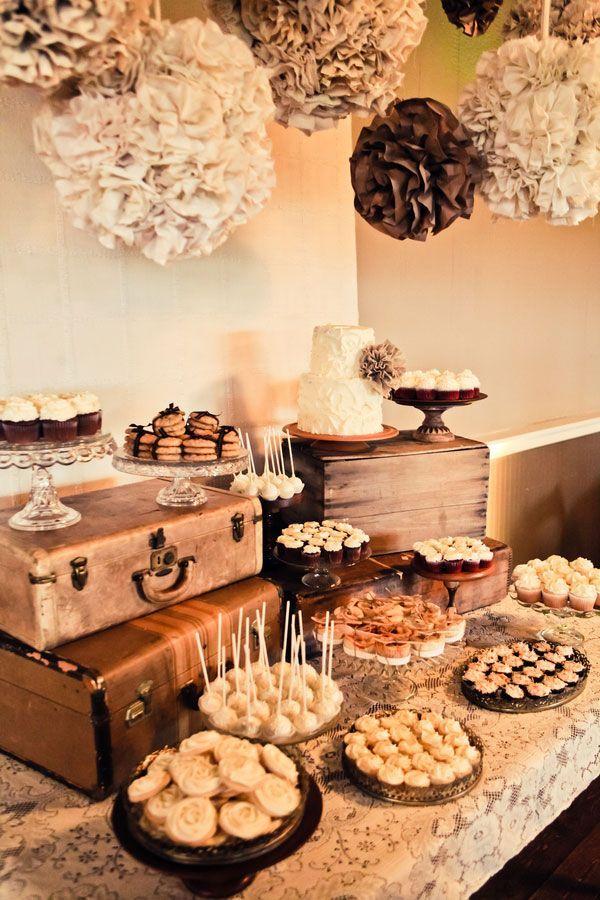 vintage burlap   Tamara & Steve Burlap & Lace Themed Vintage DIY Wedding Heather Lynn ...