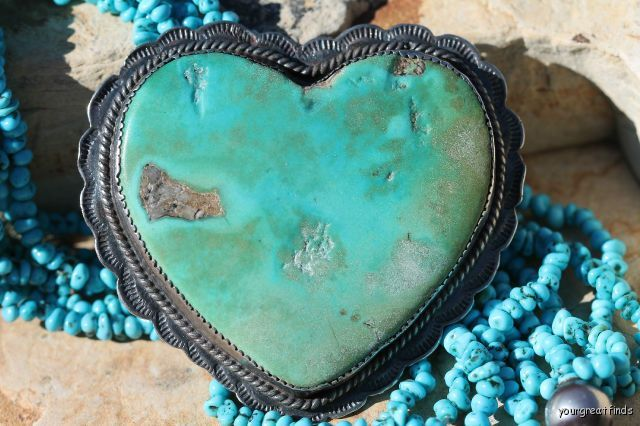 Amazing Navajo Turquoise find! http://yourgreatfinds.net/collections/