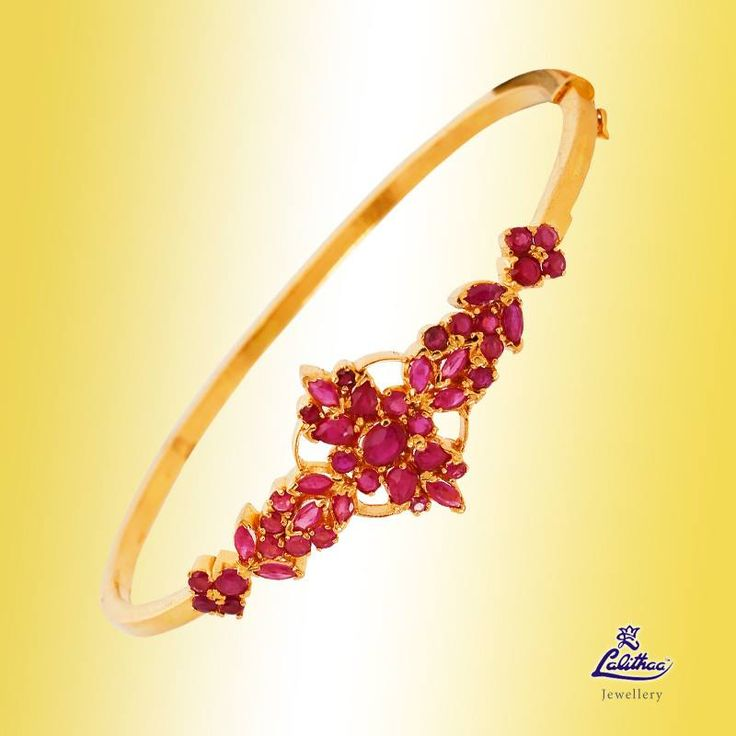 Stack your jewelry in style, this occasions with the colorful germs of bracelets! #lalithaajewellery