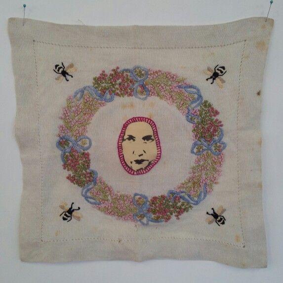 Edie on vintage embroidery - Alex Hamilton