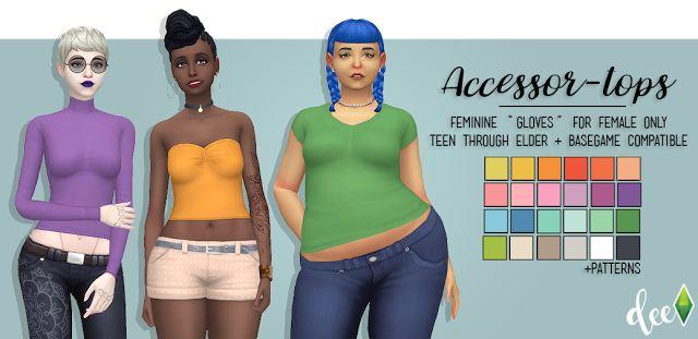 Deetron Sims: Accessor-Tops