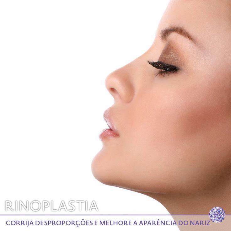 A rinoplastia é o procedimento que visa corrigir desproporções e melhorar a aparência do nariz, tornando-o mais harmonioso com o restante da face, em que também podem ser corrigidas alterações decorrentes de traumatismos. Vários aspectos do nariz podem ser modificados, como a projeção e definição da ponta, a largura da base, a abertura das narinas, o dorso nasal (giba), o perfil do nariz, assimetrias e desvios.