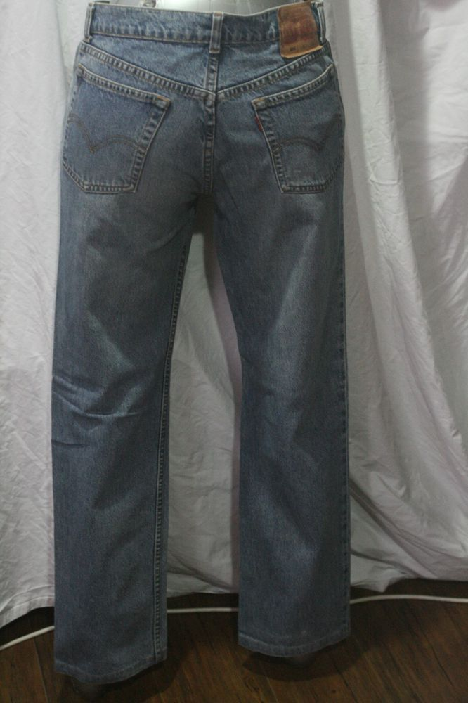 VINTAGE MENS Levis 506  STRAIGHT PIT  BLUE JEAN  W30 L30 made in PHILIPINES #LEVIS #StraightLeg